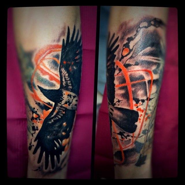 трэш полька тату на руке: trashpolka.ru/tattoos