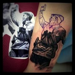 Патриотическая татуировка
