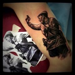 Патриотическая татуировкаTrashPolka
