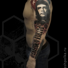 realistic-trash-polka-tattoo-konstantin-novikov-023-che-guevara
