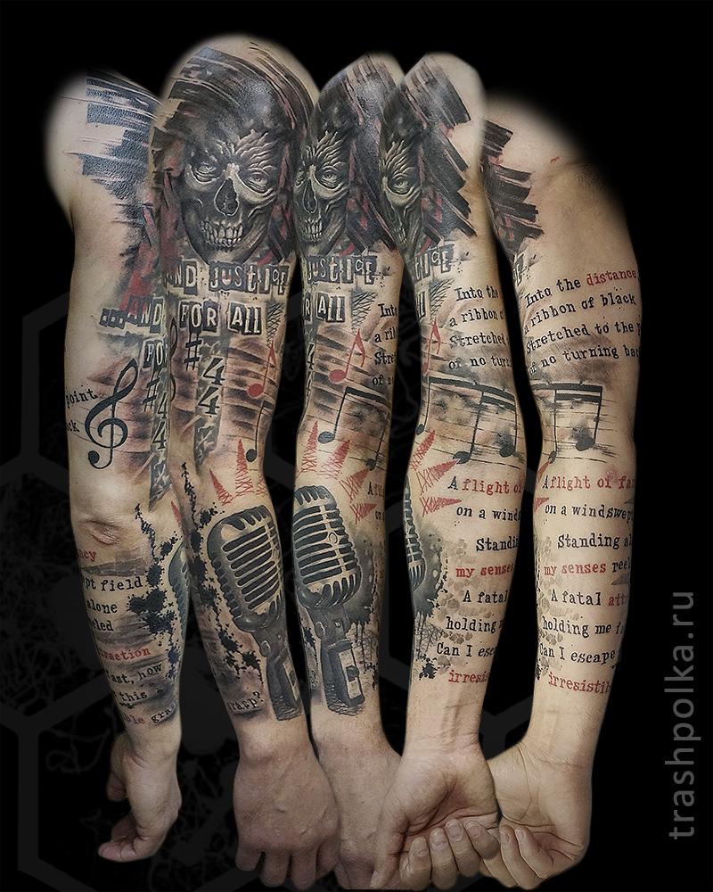 trash-polka-tattoo-music